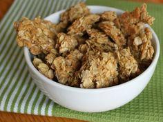 Gluten-Free Almond-Maple Granola Clusters from Serious Eats. http://punchfork.com/recipe/Gluten-Free-Almond-Maple-Granola-Clusters-Serious-Eats