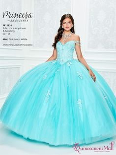 Pretty quinceanera mori lee Valentina dresses, 15 dresses, and vestidos de quinceanera. We have turquoise quinceanera dresses, pink 15 dresses, and custom Quinceanera Dresses! Elegant Prom Dresses, Prom Dresses With Sleeves, Blue Wedding Dresses, 15 Dresses, Cute Dresses, Girls Dresses, Quince Dresses Teal, Quinceanera Dresses Maroon, Lace Ball Gowns