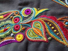 Broderie bretonne.  Beautiful work