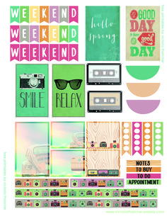 Good day summer planner printable