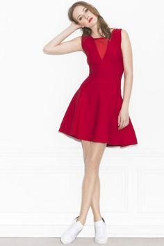 Robe rouge ete 2016