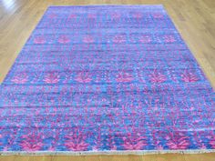 Hand Knotted Bamboo Silk Transitional Oriental Rug - Product:5-8-x8-Hand-Knotted-Bamboo-Silk-Transitional-Oriental-Rug-Sh26350