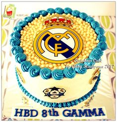 Real madrid birthday cakesit us facebookmarissascake or real madrid cake wallpaper imgenes espaoles altavistaventures Image collections