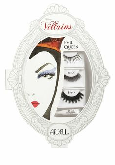 Evil Queen Ardell Disney Villains False Lashes Collection for Halloween 2013