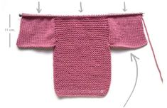 Knitted Baby Cardigan – PINK LADY – Knitted Baby Cardigan – PINK LADY -Two needle Knitting Pattern & tutorial Always aspired to be able to knit, nonetheless. Baby Cardigan Knitting Pattern Free, Baby Sweater Patterns, Knitted Baby Cardigan, Knitted Booties, Knit Baby Sweaters, Baby Hats Knitting, Crochet Baby Booties, Easy Knitting, Baby Knitting Patterns