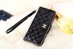 Chanel Handtasche Leder Handyhülle mit Seil für iphone 6 ung iphone 6 plus…
