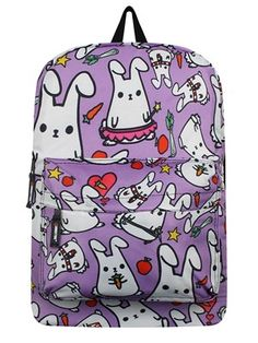615ceddef7 This mega cute backpack is covered in the adorable little mammals