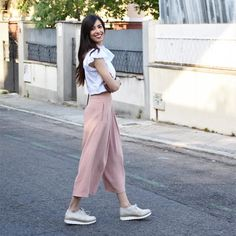 #Culottes y #bluchers, ¡la combinación perfecta! #LinceShoes