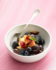 Use fresh, seasonal fruits for the best fruit salads.As the lime juice and brown sugar sit together, they create a delicate syrup that's perfect for the fruit salad.