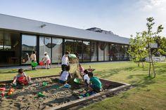 sugawaradaisuke landscapes yutaka kindergarten to promote active learning