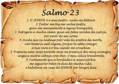 salmo 23 - Pesquisa do Google