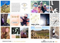 Say Yes - Digital Project Life layout created by kerrianne featuring Me & You by Sahlin Studio