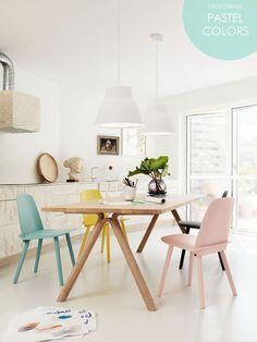 Deco Trends: Pastel Colors Decor