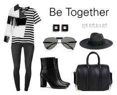 """""""Be Together"""" by anaelle2 ❤ liked on Polyvore featuring 7 For All Mankind, Chicnova Fashion, Fendi, Tory Burch, Givenchy, Chloé, Catarzi and Maison Margiela"""