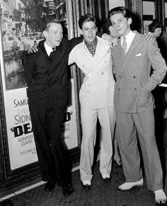 Huntz Hall, Billy Halop, and Gabriel Dell at the premiere of their classic 1937 crime drama, Dead End! Billy Halop, I Movie, Movie Stars, The Bowery Boys, Hattie Mcdaniel, The Age Of Innocence, Innocent Child, Turner Classic Movies, Best Pal