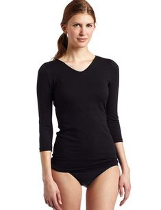 7ff3d48fcc T-Shirt Flexees Maidenform Fat Free Dressing Black