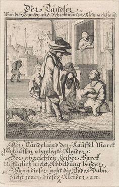Kleerkoper, Caspar Luyken, anoniem, 1711
