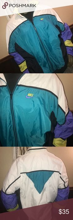 RAD Vintage 90s Nike Wind-suit Jacket Windbreaker RAD Vintage 90s Nike Wind-suit Jacket  No Stains Hard to find in this good of condition. Lining in great condition. XL Windbreaker Vintage Jackets & Coats Windbreakers