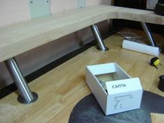 crasftman work bench | looking for a workbench - The Garage Journal Board. These are the Ikea shelf brackets