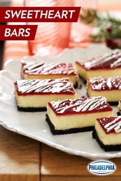 Whether you have a Valentine or not this year, it's nice to know that these White Chocolate Raspberry Cheesecake Bars will always love you back. ;)
