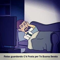 Relax guardando C'è Posta per te⌚️  #relax #home #CePostaperTe #home #casa #divano #Bitstrip #avatar #amici #avatar #social_network #pinterest #instagram #twitter #Facebook #instarelax #filtro #milan #milano #foto #tumblr #foursquare #photo #follow #followme #followers #kiss #friends