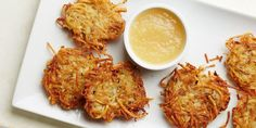 These ultimate latkes have fluffy, pillowy-soft centers with crisp, golden brown edges. To cut your cooking time in half, use two large skillets to fry twice the batches at once.