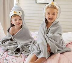 Penguin Bath Wrap #pbkids