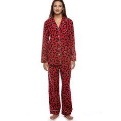 Kim Rogers Womens Red Scottie Dog Print Pajama « ShirtAdd.com – Perfect Fit Shirts
