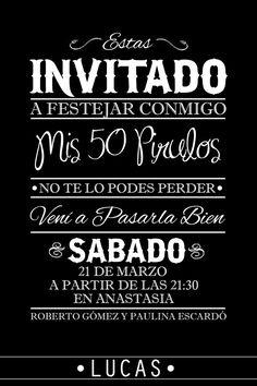 Invitaciones Divertidas De Cumpleanos Para Adultos Buscar Con