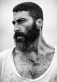 Beards. Men.