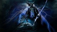 Celtic God of Thunder - Taranis
