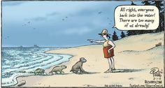 Evolution Nowadays (By Dan Piraro)