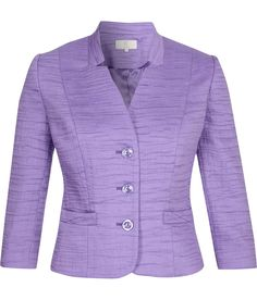 CC Fashion Petite Wisteria Collar Detail Jacket