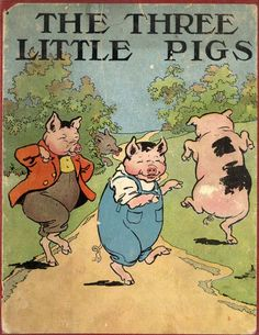 1918 The Three Little Pigs, published by M. A. Donohue