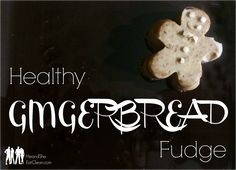 Clean Eat Recipe :: Healthy Gingerbread Fudge ~ He and She Eat Clean