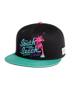 Cayler & Sons South Beach Snapback Black-mint