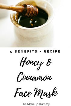 I love a Honey Cinnamon Face Mask for a quick spa treatment! And the best part: you only need 2 easy kitchen ingredients. A perfect at home remedy to treat different skin issues like acne or wrinkles. Homemade Moisturizer, Face Scrub Homemade, Homemade Face Masks, Honey Cinnamon Mask, Cinnamon Face Mask, Beauty Care, Diy Beauty, Beauty Tips, Beauty Hacks
