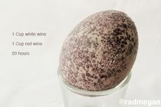Radmegan's Natural Easter Egg Dye with Wine