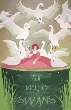 The Wild Swans by cocoaferret