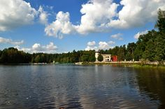 Grand Hotel & Castle by the lake ; Little Cottages, Grand Hotel, Trout, Castle, Spa, River, Beach, Nature, Outdoor