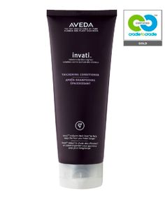 Invati™ thickening conditioner uses Sugar-Beet Derived amino acids and Soy Proteins to energize and rehabilitate the scalp around hair follicles.