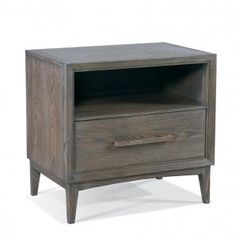 Hickory White - 215-72 Hudson Open Top Night Stand