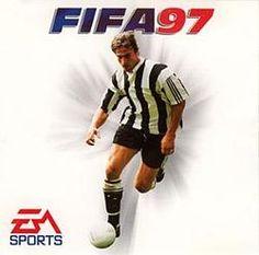 FIFA Soccer 97 [DOS, Sega Saturn, PC, Sega Dreamcast, Game Boy, PlayStation, Super Nintendo and Sega 32X] featuring on the cover, David Ginola