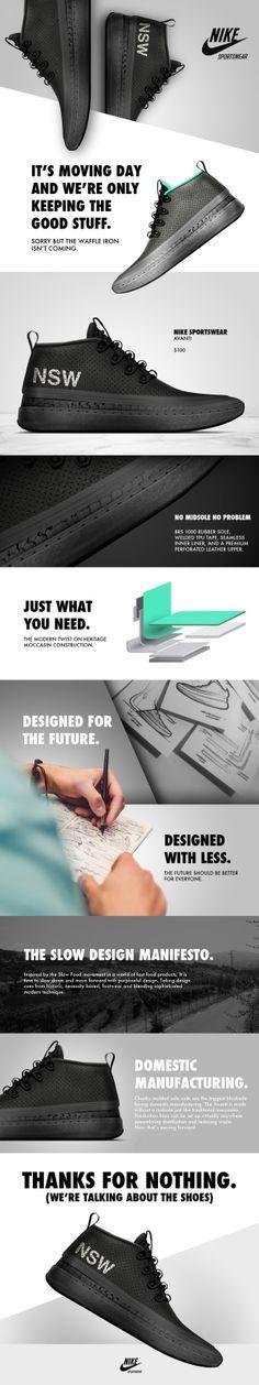 Product Design: Nike AVANTI by Matt