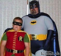 of Got Ham City… funny-fat-Batman-Robinfunny-fat-Batman-Robin Batman And Robin Costumes, Batman Robin, Funny Images, Funny Pictures, Funny Pics, Strange Pictures, Awkward Pictures, Videos Funny, Pierre Richard