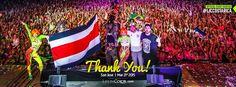 "Life in Color ""World's Largest Paint Party"", Costa Rica, 2015 | Organización comunitaria."