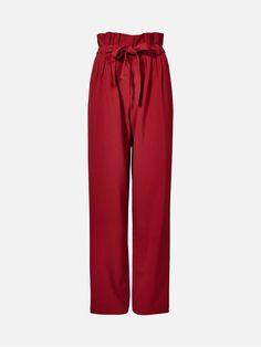 Amy bukser | | Rød | BikBok | Norge  Str.L