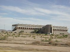 Phoenix Trotting Park (abandoned)-as seen from 1-10 eastbound, 13909 West Van Buren Street, Goodyear, Arizona, 85338 (The abandoned track is 20 miles West of Phoenix, just south of the I-10 Highway and can be seen from the road.)