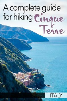 Hiking Cinque Terre is an incredible experience - but it helps to be prepared. To get ready for walking Cinque Terre, I've put together a complete guide - including where to stay at Cinque Terre, the Cinque Terre walking route, and how to get to Cinque Te Italy Travel Tips, Rome Travel, Travel Europe, Travel Money, Slow Travel, Backpacking Europe, Travel Advice, Travel Guides, Travel Hacks