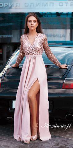 1844cdfd 15 Best Sukienki Wieczorowe images | Bridesmaid Dress, Cheap prom ...